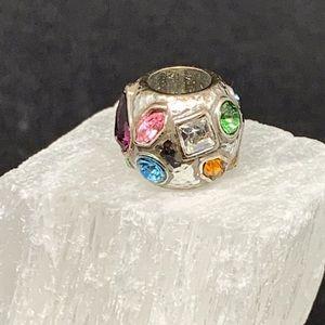 Brighton Multicolored Crystal Bead- Retired